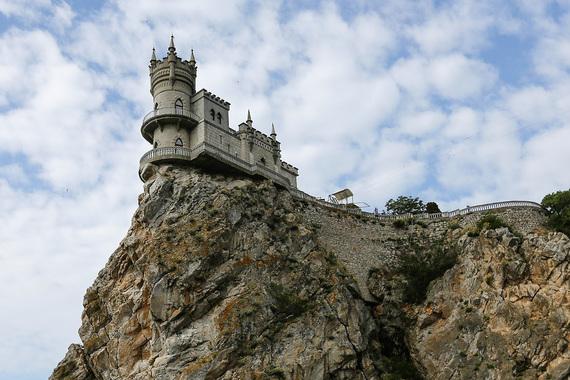 normal 1aa7 Замок «Ласточкино гнездо» в Ялте находится в аварийном состоянии