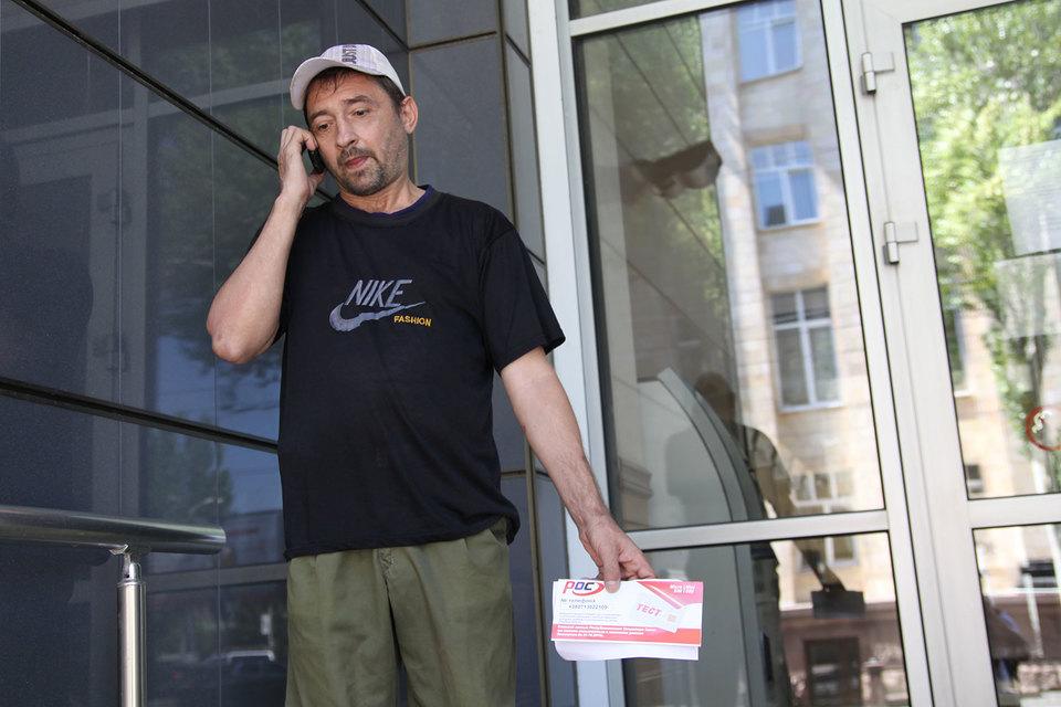 Летом 2015 г. жители Донецка начали оформлять договоры с оператором сотовой связи «Феникс»