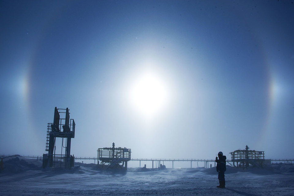 «Газпрому»  помогают холода