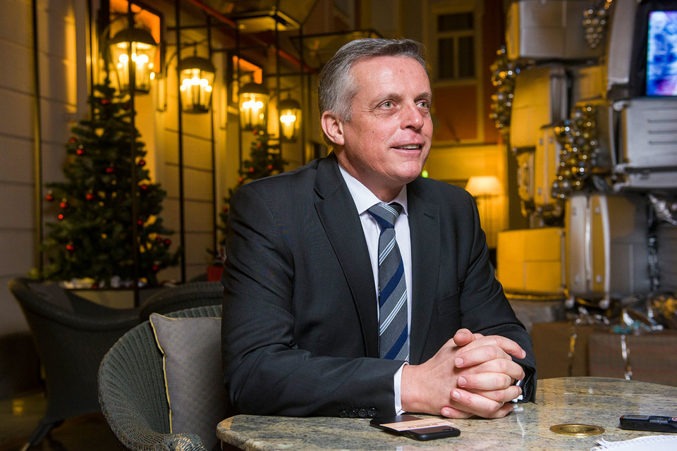 Генеральный менеджер «Гранд Отеля Европа» Шефке Янсен