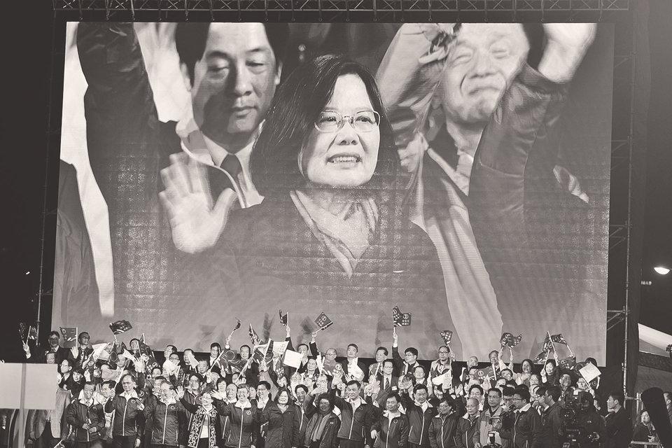 Победившая на выборах партия делает упор на строительстве отдельной, собственно тайваньской политической нации