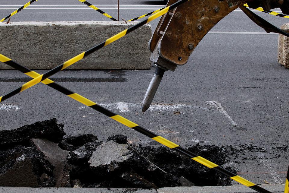 В прошлом году в Москве введены рекордные 87,4 км построенных и реконструированных дорог