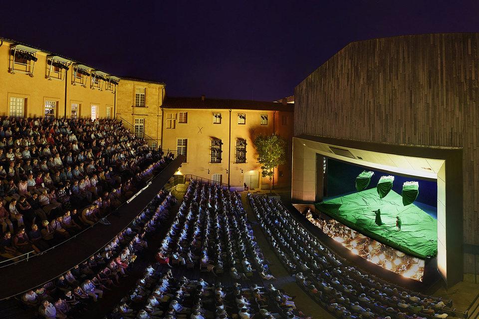 Театр архиепископства — центральная площадка фестиваля