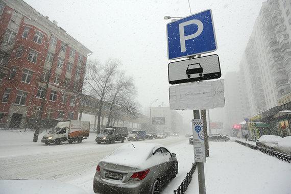 Москва не зарабатывает на платных парковках