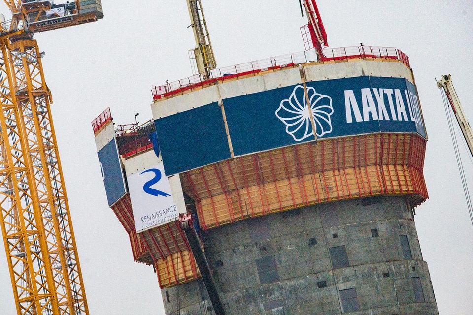 Общая площадь комплекса «Лахта центра» — 400 000 кв. м