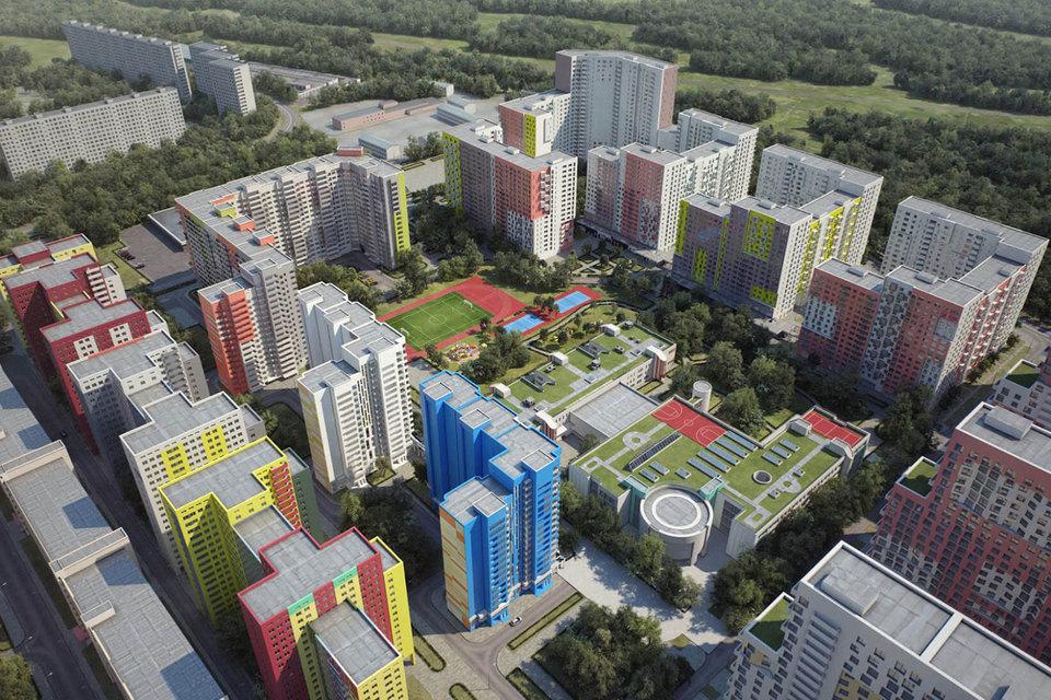 Предполагалось, что на участке в 26 га будет воздвигнут жилой комплекс с инфраструктурой (10 614 машино-мест, четыре детских сада, две школы и поликлиника)