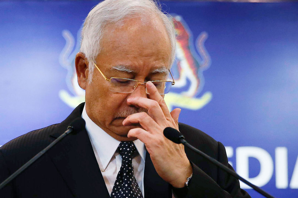 Наджиб Разак приветствовал решение прокуратуры