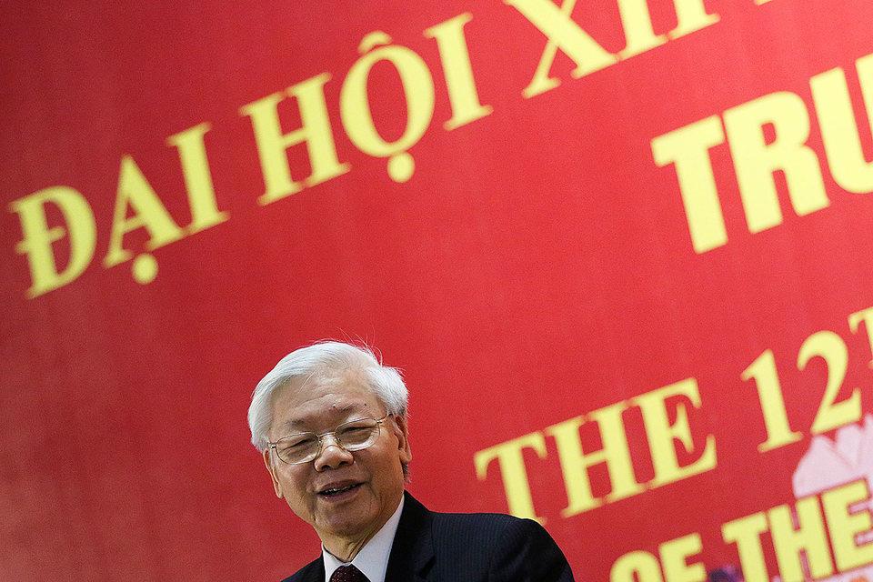 На пост генерального секретаря был выбран прежний руководитель КПВ Нгуен Фу Чонг