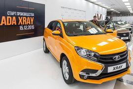 Lada Xray (на фото) должна поддержать продажи «АвтоВАЗа»