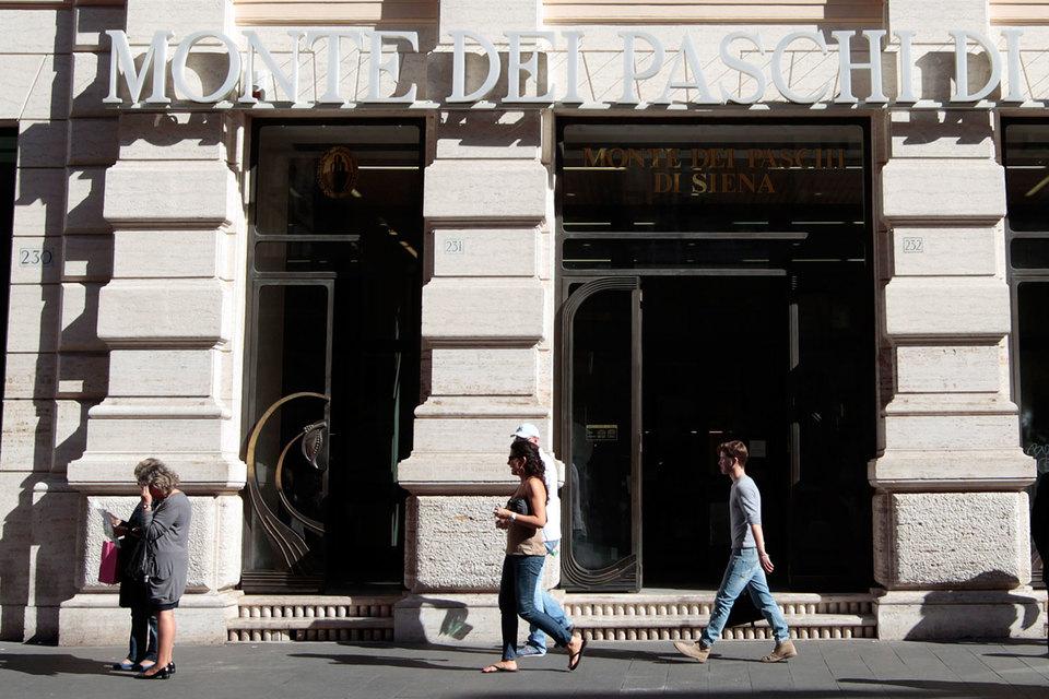 С ноября акции старейшего в Европе банка – Monte dei Paschi di Siena подешевели на 58%