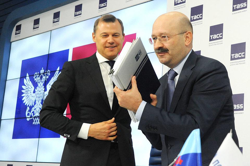 Дмитрий Страшнов (слева) и Михаил Задорнов
