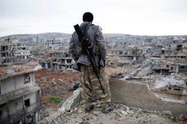 ДС и Курдский национальный совет объявили себя временным правительством сирийского Курдистана в условиях гражданской войны в Сирии