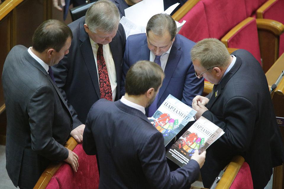 Верховная рада Украины в четверг изменила законом регламент своей работы в части внесения изменений в конституцию