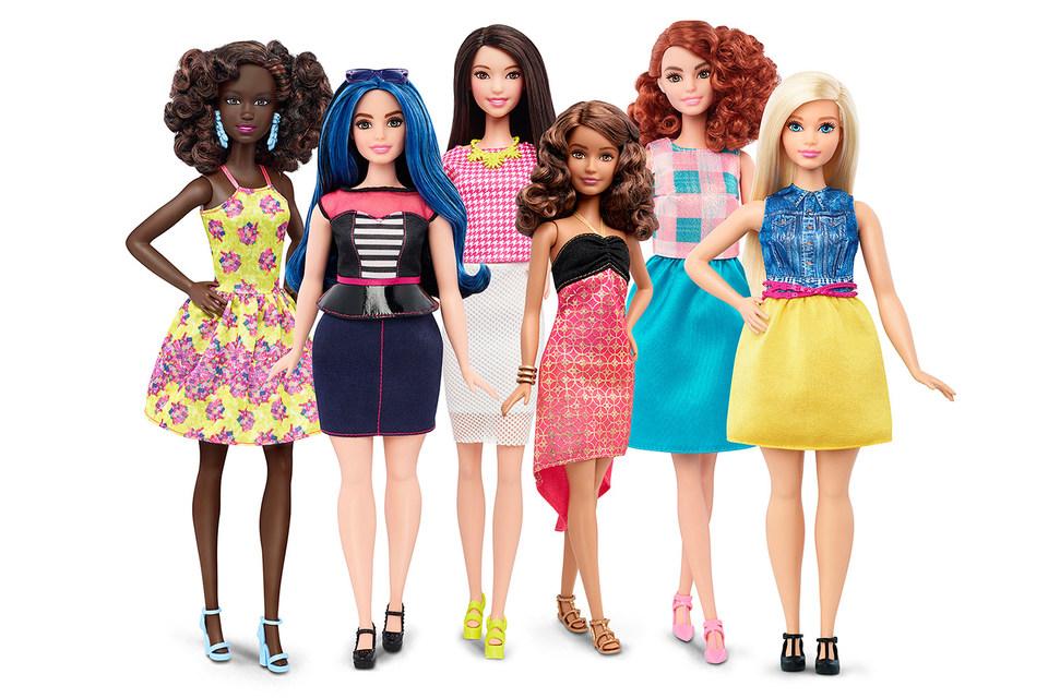 Новая линейка включает в себя кукол с 4 типами телосложения и оттенками кожи