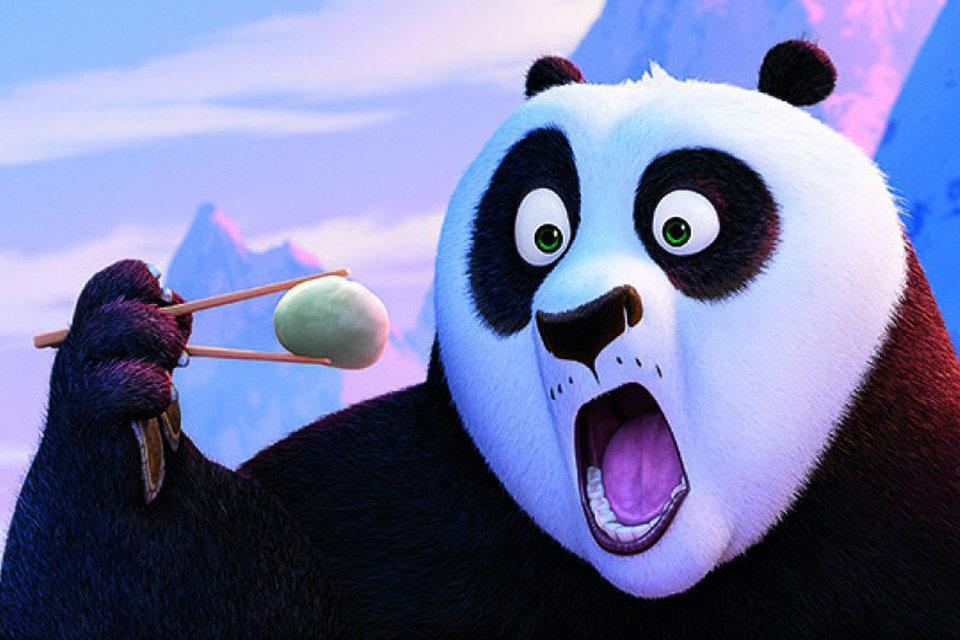 Панда наносит удар