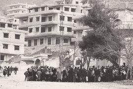 Жители города Мадайя, осажденного правительственными войсками, ждут гуманитарного конвоя Сирийского арабского Красного Полумесяца
