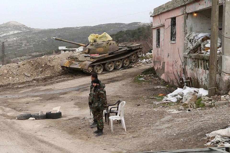 Вооруженные силы Сирийской Арабской Республики (САР) установили контроль над международной трассой, идущей от Алеппо к городу Аазаз