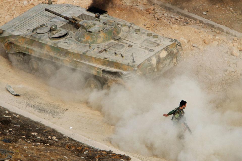 Наступление правительственных войск на севере Сирии может привести к срыву межсирийских переговоров в Женеве