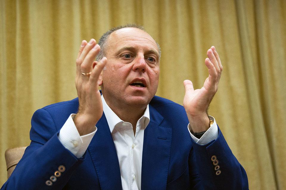 Основной владелец ТМК Дмитрий Пумпянский