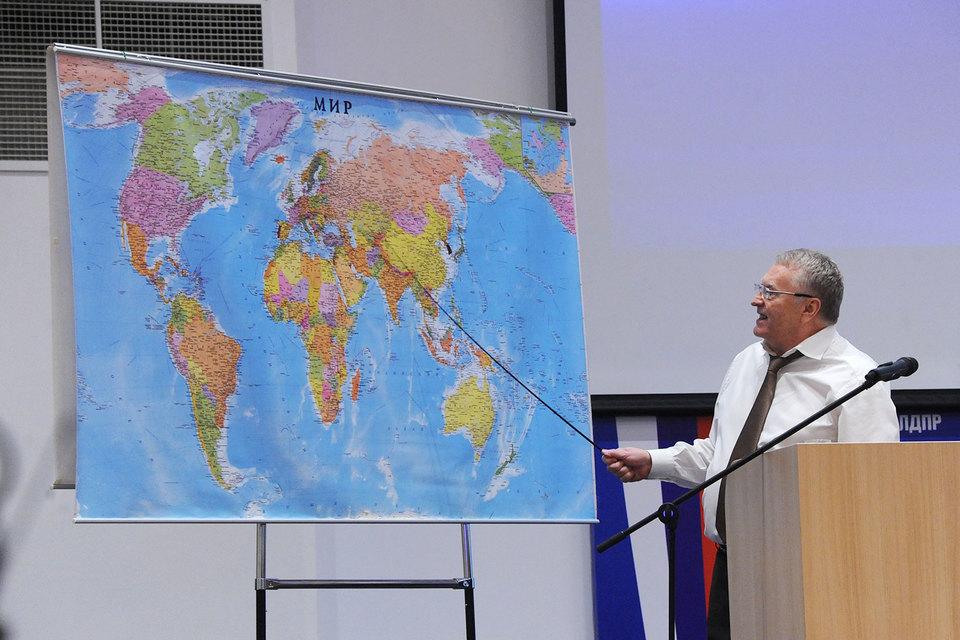 На съезде было объявлено, что Жириновский будет баллотироваться в президенты в 2018 г.