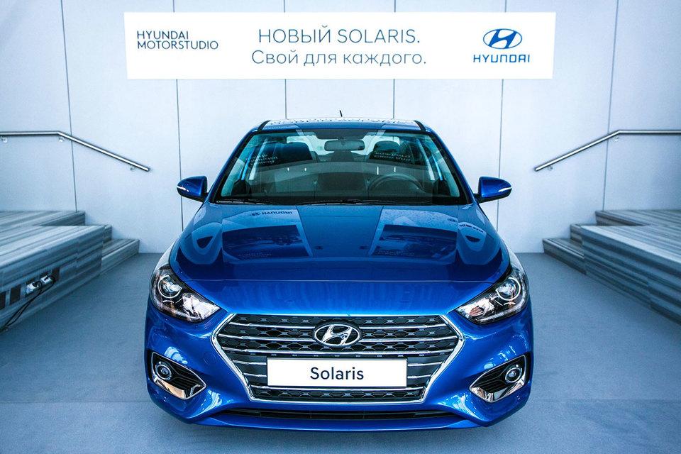 Hyundai представила новое поколение модели Solaris