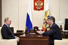 Путин назначил Алексея Цыденова врио главы Бурятии