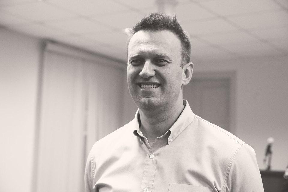 Алексей Навальный на суде в Кирове