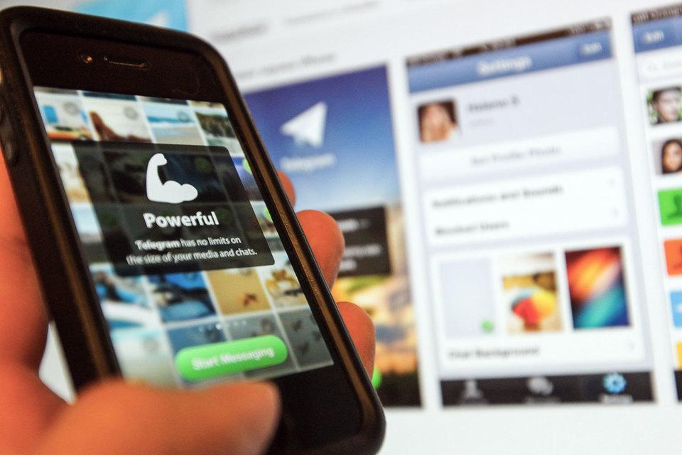 Telegram входит сейчас в России в лидирующую пятерку приложений в категории «Соцсети»