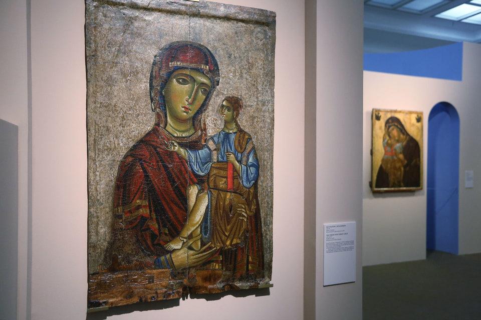 «Богоматерь с Младенцем». XIII век