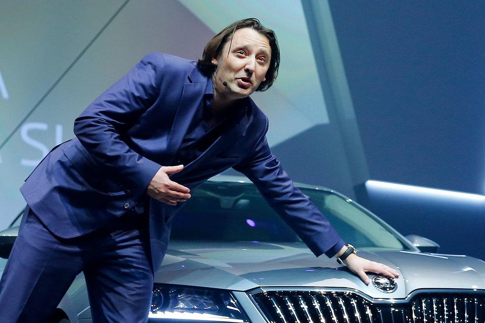 Йозеф Кабан в последние годы был шеф-дизайнером марки Skoda