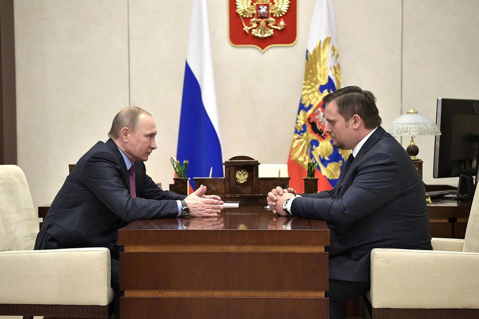 Путин назначил исполняющим обязанности главы региона гендиректора Агентства стратегических инициатив (АСИ) Андрея Никитина