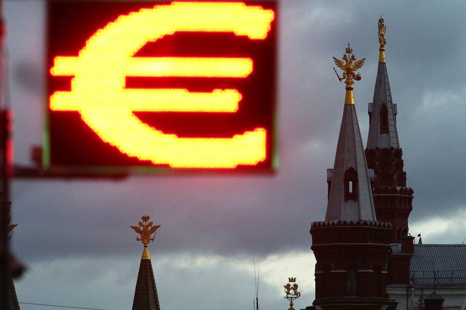 К 16.00 курс евро составлял 60,92 руб./евро
