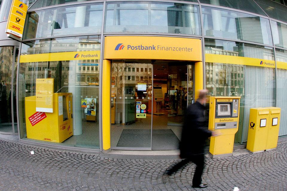 Postbank – основа розничного бизнеса Deutsche, который тот купил в 2010 г.