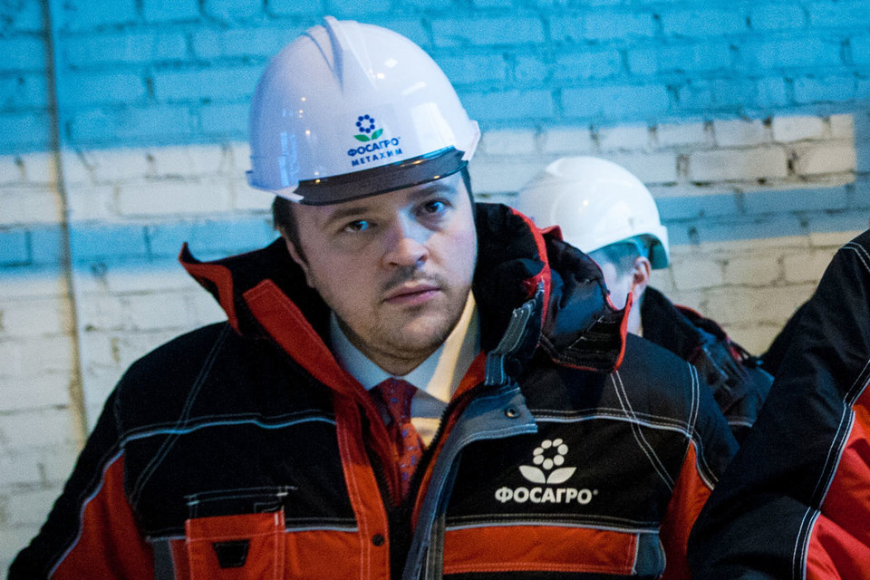 Гендиректор «Фосагро» Андрей Гурьев