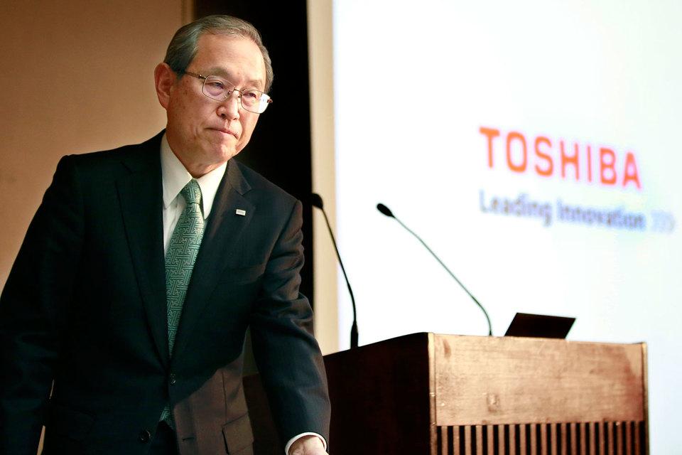 Председатель совета директоров Toshiba Сигэнори Сига уходит в отставку