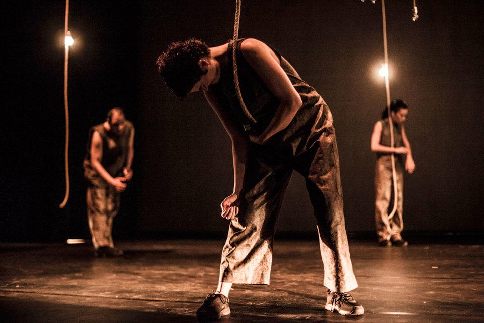 Спектакль, привезенный «Фрич-компанией» из Мадрида, продемонстрировал особую технику «Психобалета»