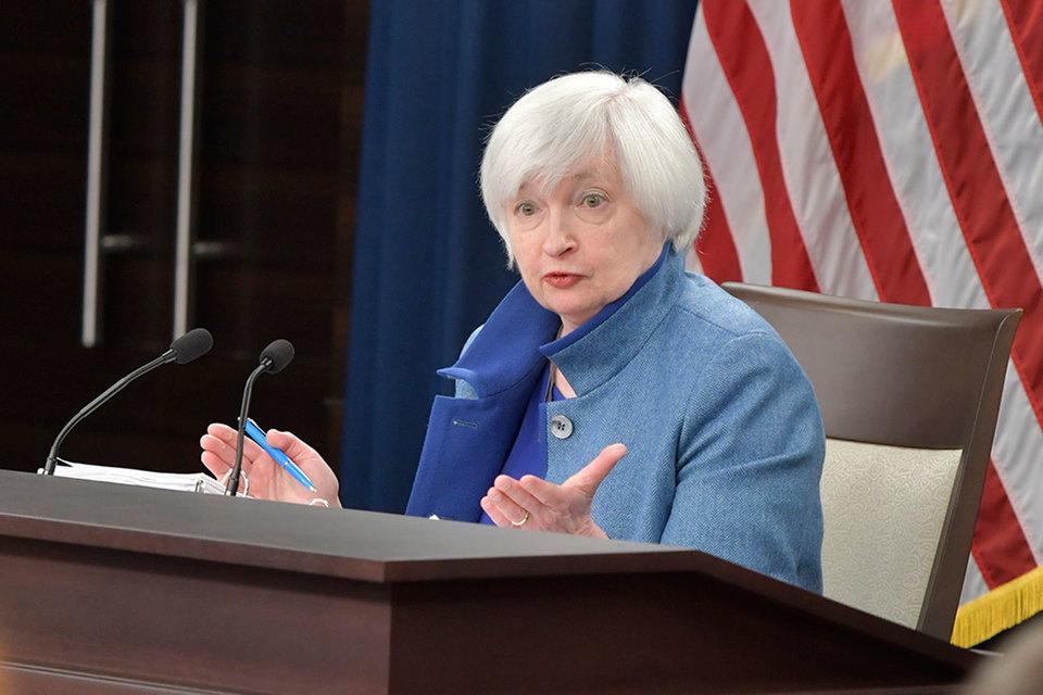 Изменения бюджетно-налоговой политики могут потенциально повлиять на экономические перспективы, заявила Йеллен