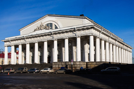 normal 1i0l Как реставрируют здание Биржи в Петербурге