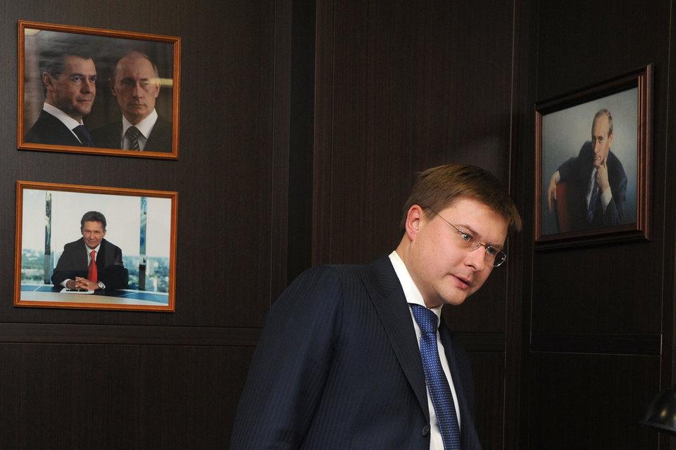 Сергей Иванов, вице-президент Сбербанка, сын бывшего руководителя администрации президента