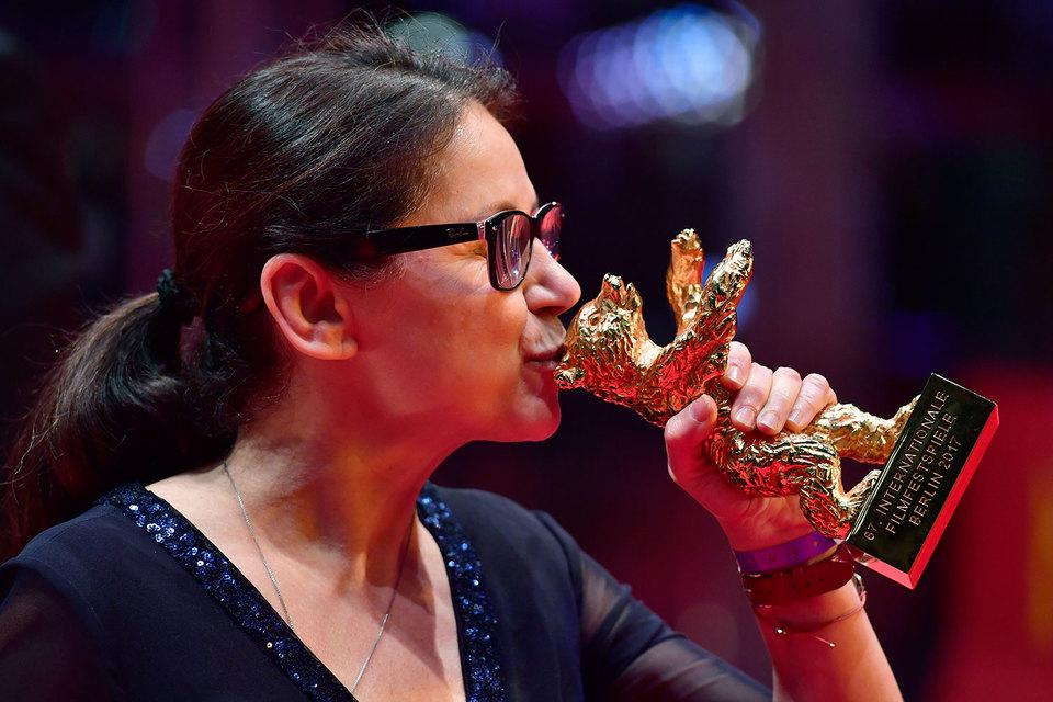 «Золотой медведь» Илдико Энеди – награда за фильм «О теле и душе»
