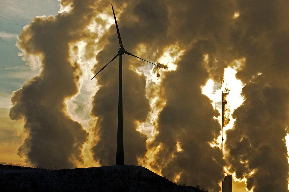 В ветреный день сети не справляются с большими объемами электричества