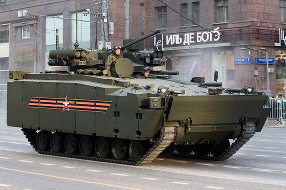 Боевая машина пехоты «Курганец» – передовая БМП, превосходящая шведско-английскую CV90, которая стоит 3 млн евро