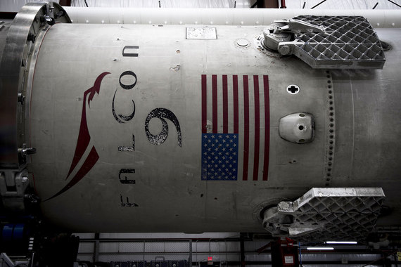 normal 1mu SpaceX Илона Маска впервые запустила ракету из легендарного Космического центра Кеннеди