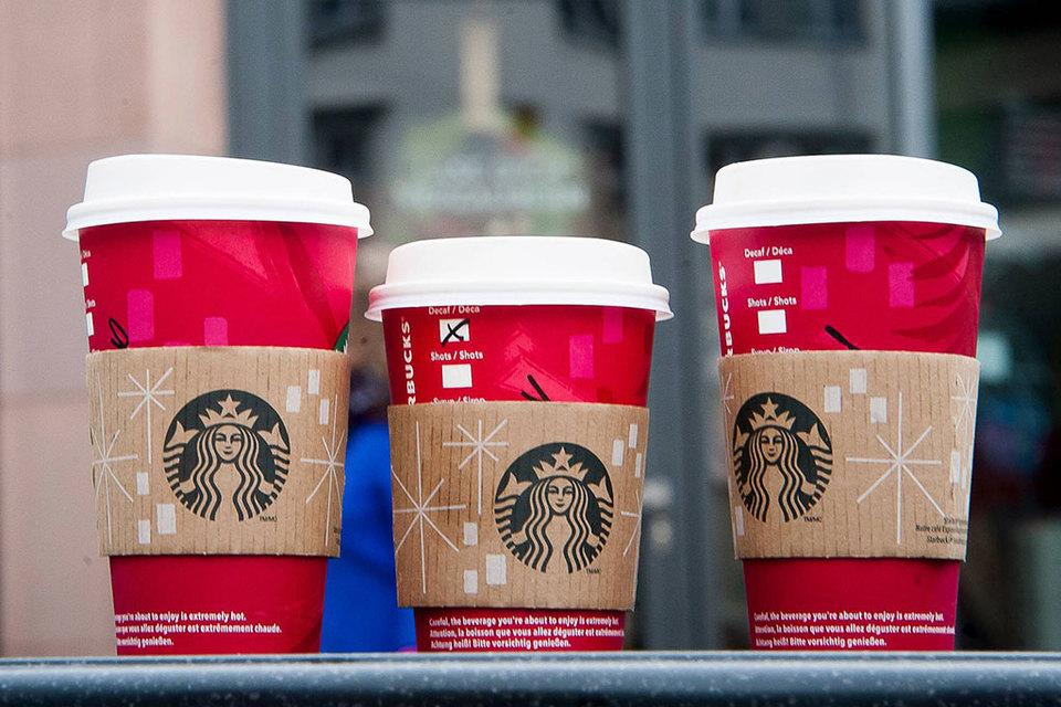 Ассортимент в мини-кофейнях уже, чем в обычных Starbucks