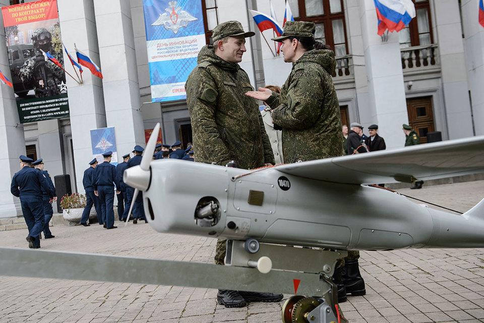 Основным типом БЛА в Сирии был «Орлан-10» чисто российской разработки (на фото)