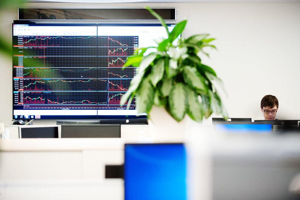 Годовая чистая прибыль Московской биржи снизилась впервые за пять лет