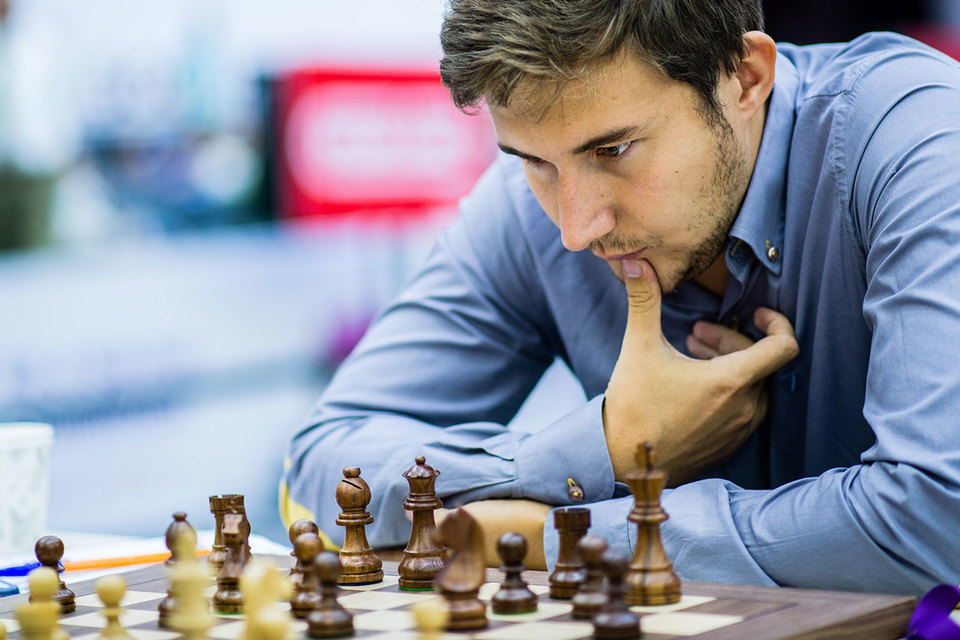 После хоккеиста Александра Овечкина лицом рекламной кампании банка «Открытие» станет шахматист Сергей Карякин