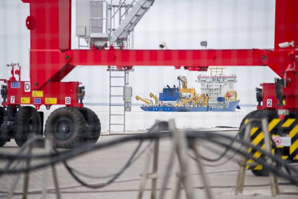 Новый порт на Балтике привлек финского оператора
