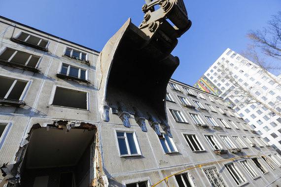 Снос пятиэтажек как предвыборная программа Собянина