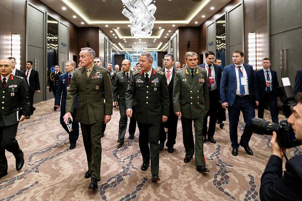 Начальники штабов России, США и Турции обсудили ситуацию в Ираке и Сирии